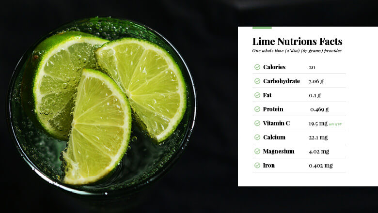 Health Benefits of Lime and Nutrition Facts