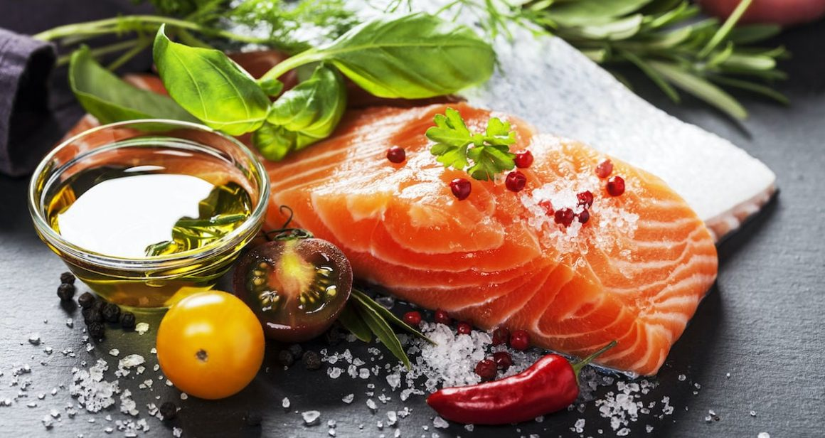 Healthy Fish Salmon for Skin Health
