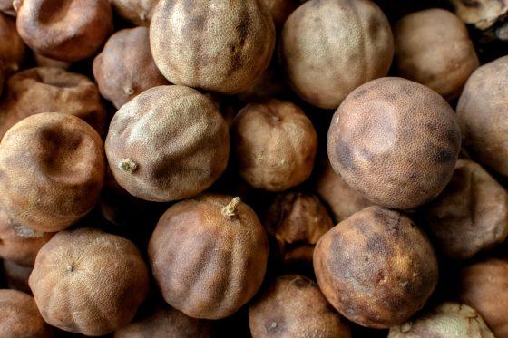 Dried black limes