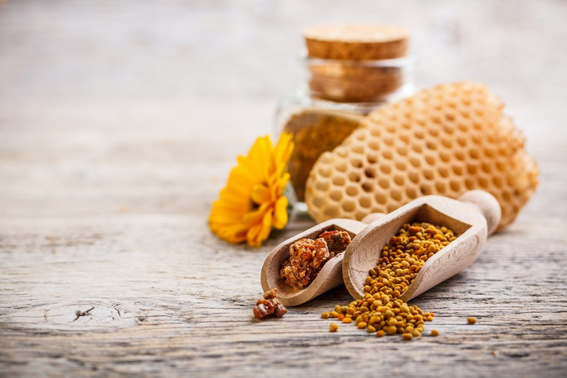 Bee Pollen and propolis