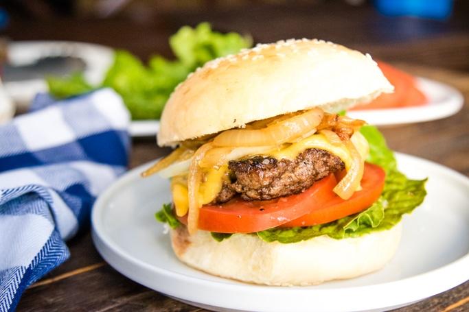 Homemade Burgers -