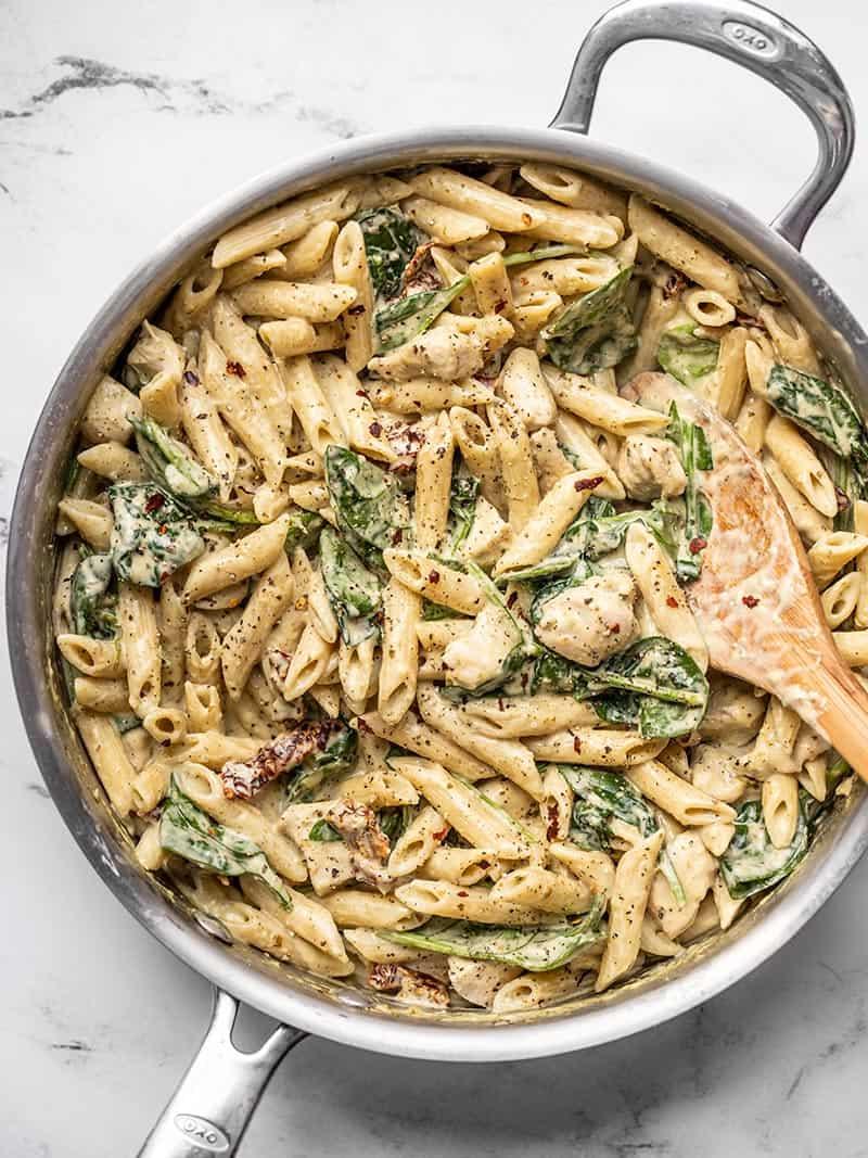 Pesto Chicken Pasta -