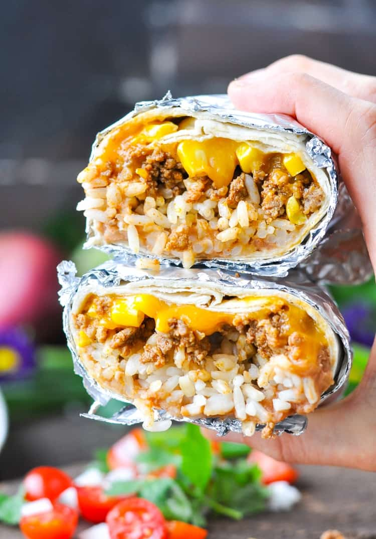 Simple Burrito -