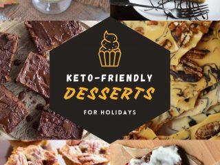 Keto-friendly desserts