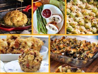 Non-traditional thanksgiving dinner