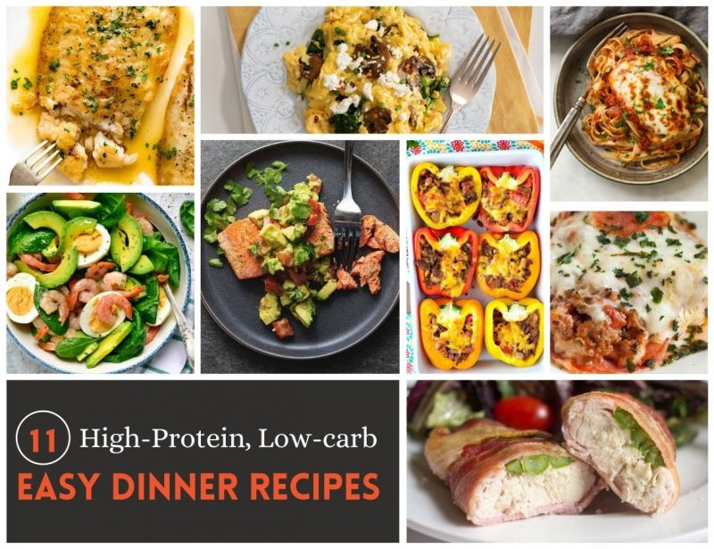 High-protein, Low-carb Easy Dinner Recipes