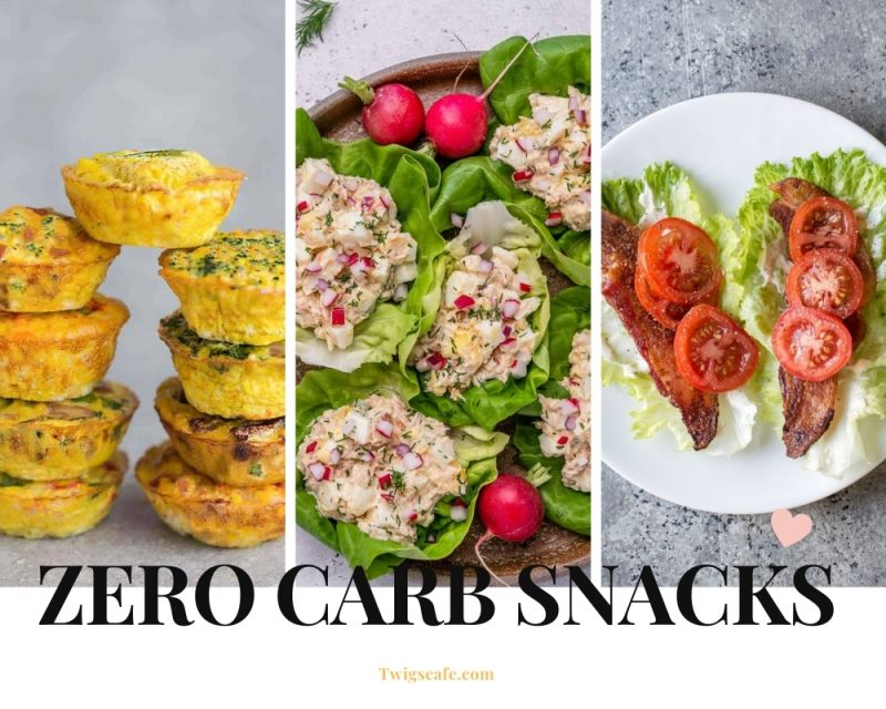 No carb snacks - Zero carb snacks