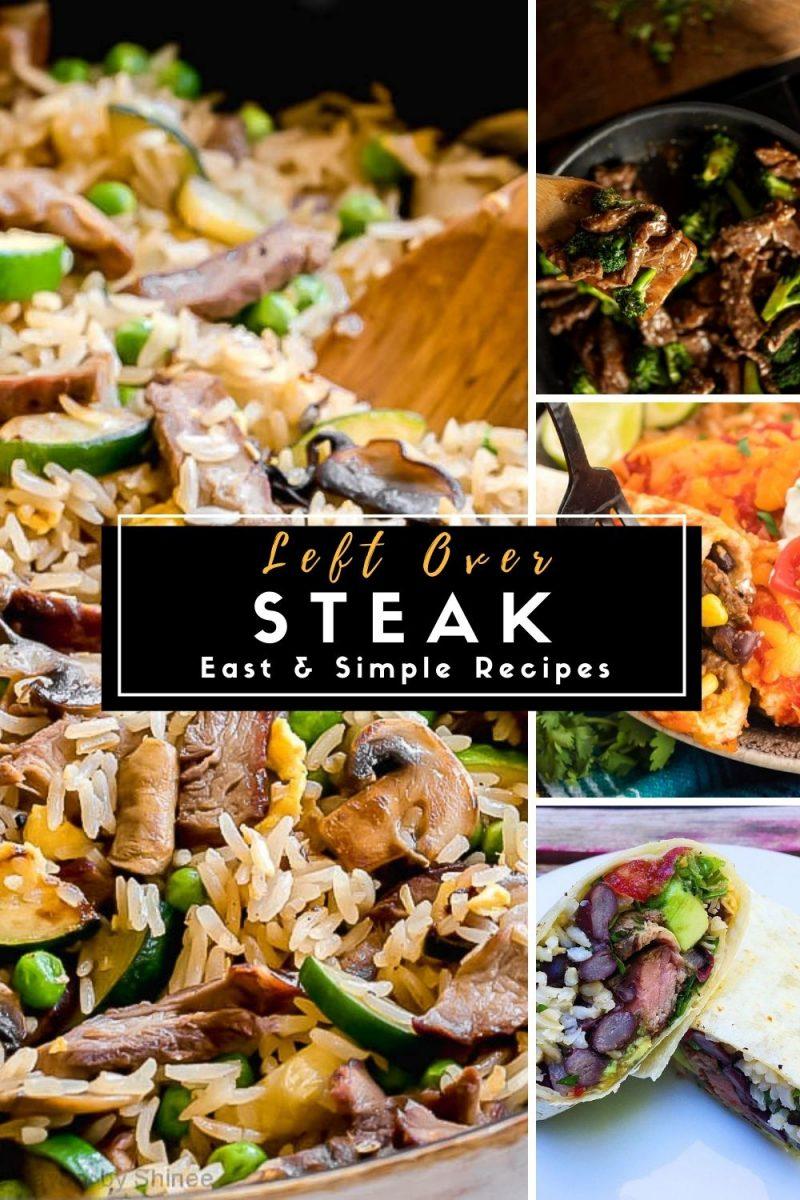 Easy Leftover Steak Recipes