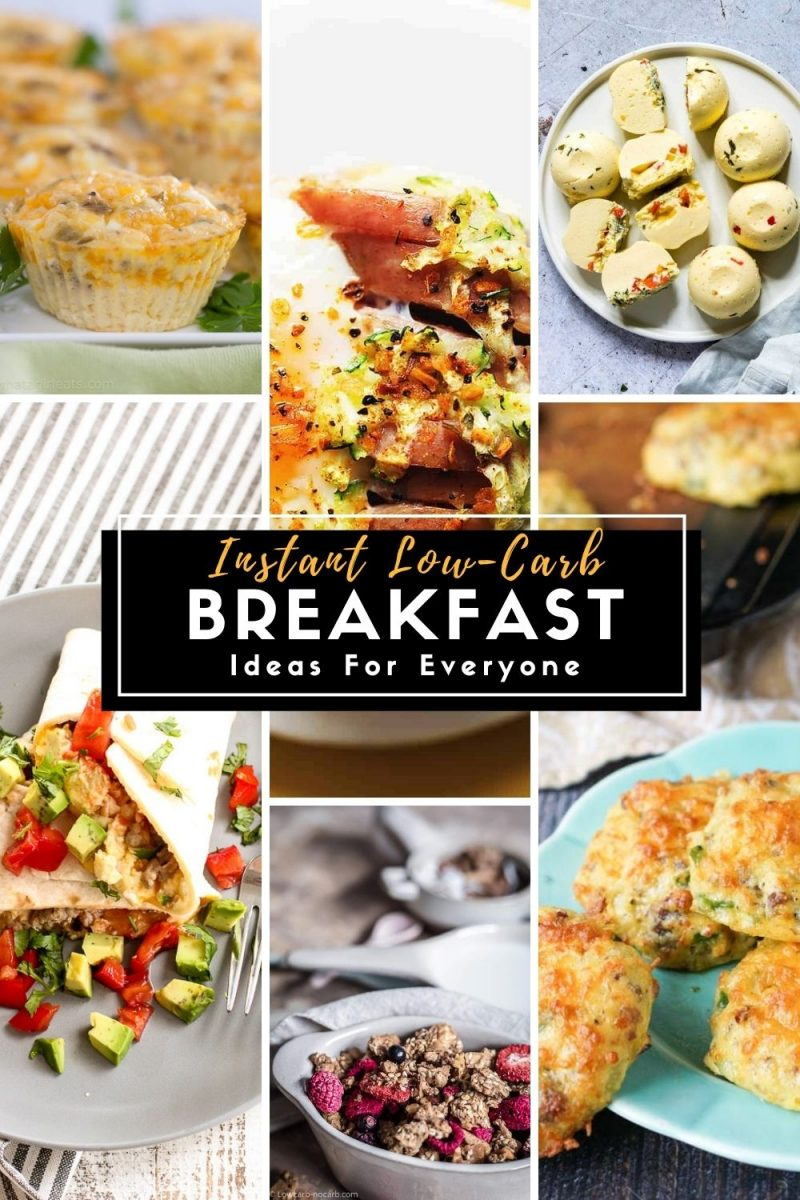Grab and Go Low Carb Breakfast Ideas
