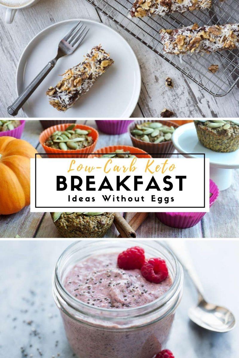 Low-Carb Keto Breakfast Ideas W/O Eggs