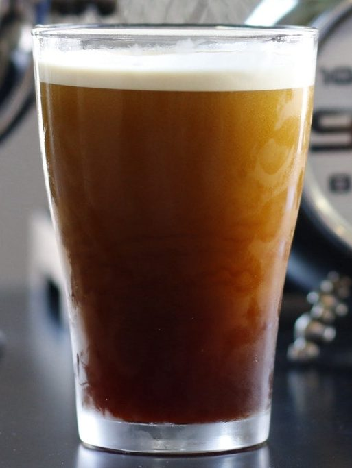 Cold brew in from of circle clocks