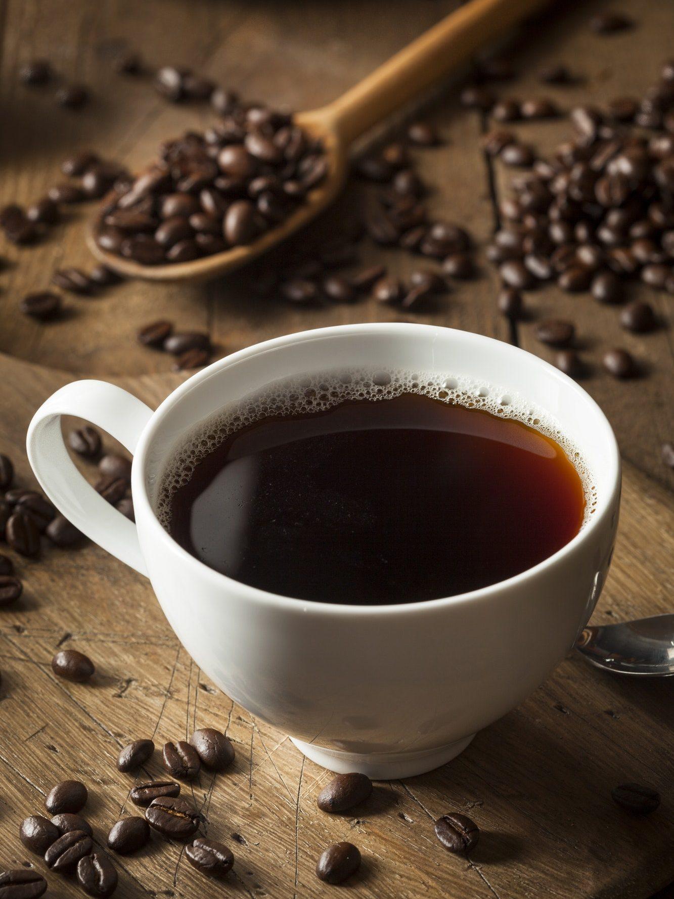 Dark Organic Black Coffee