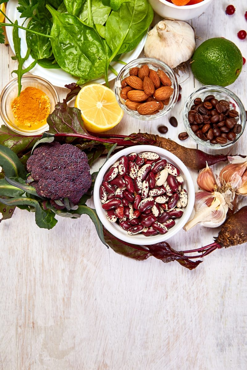 Healthy foods for liver repair