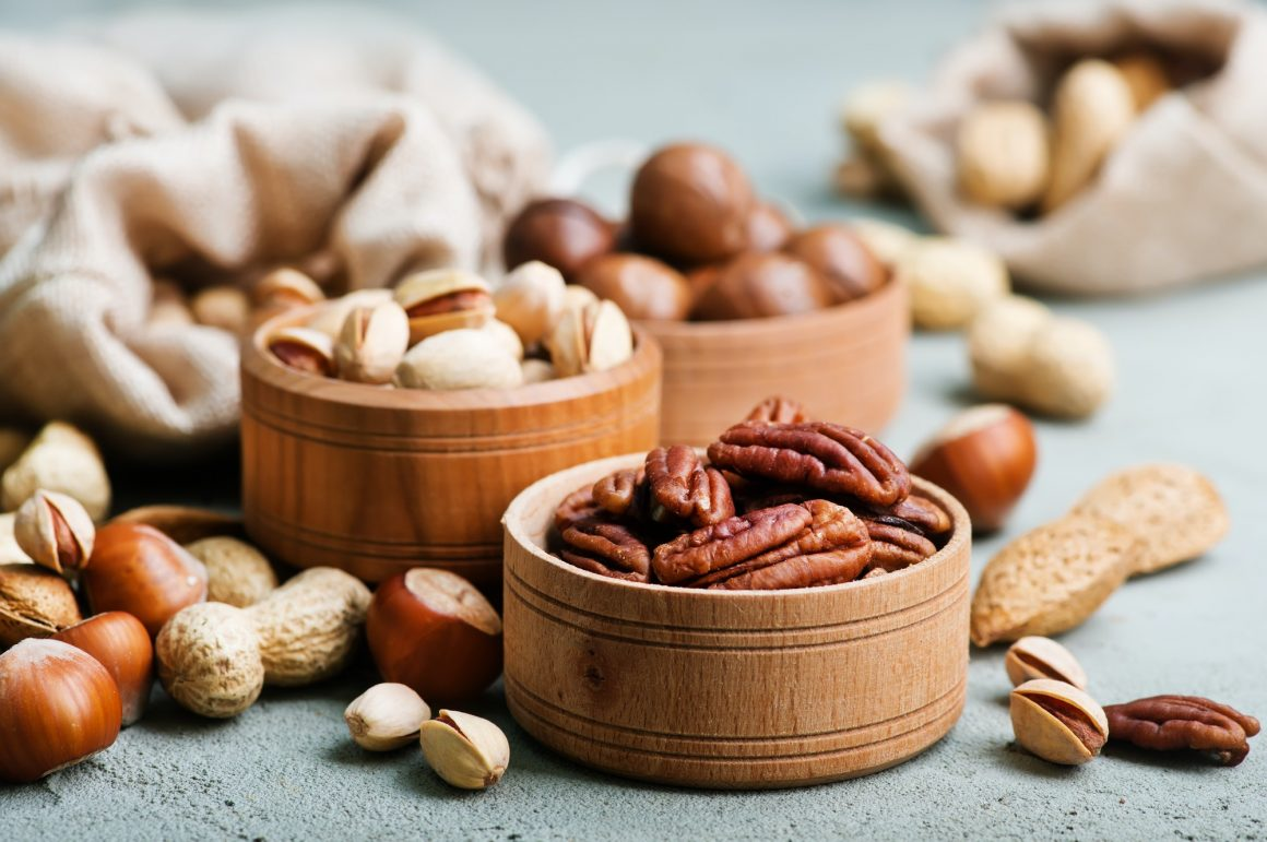 Nuts- foods for liver repair