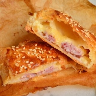 Cheese and Bacon Puffs recipe