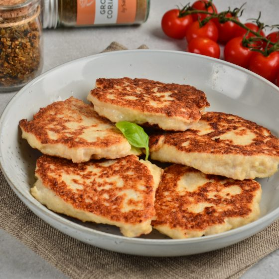 Semolina Crusted Chicken Cutlets