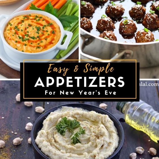 New Year's Eve's Appetizers