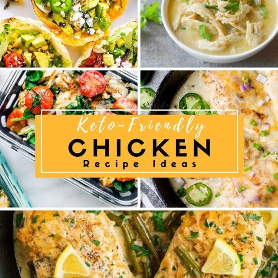 Keto-Chicken Recipe Ideas