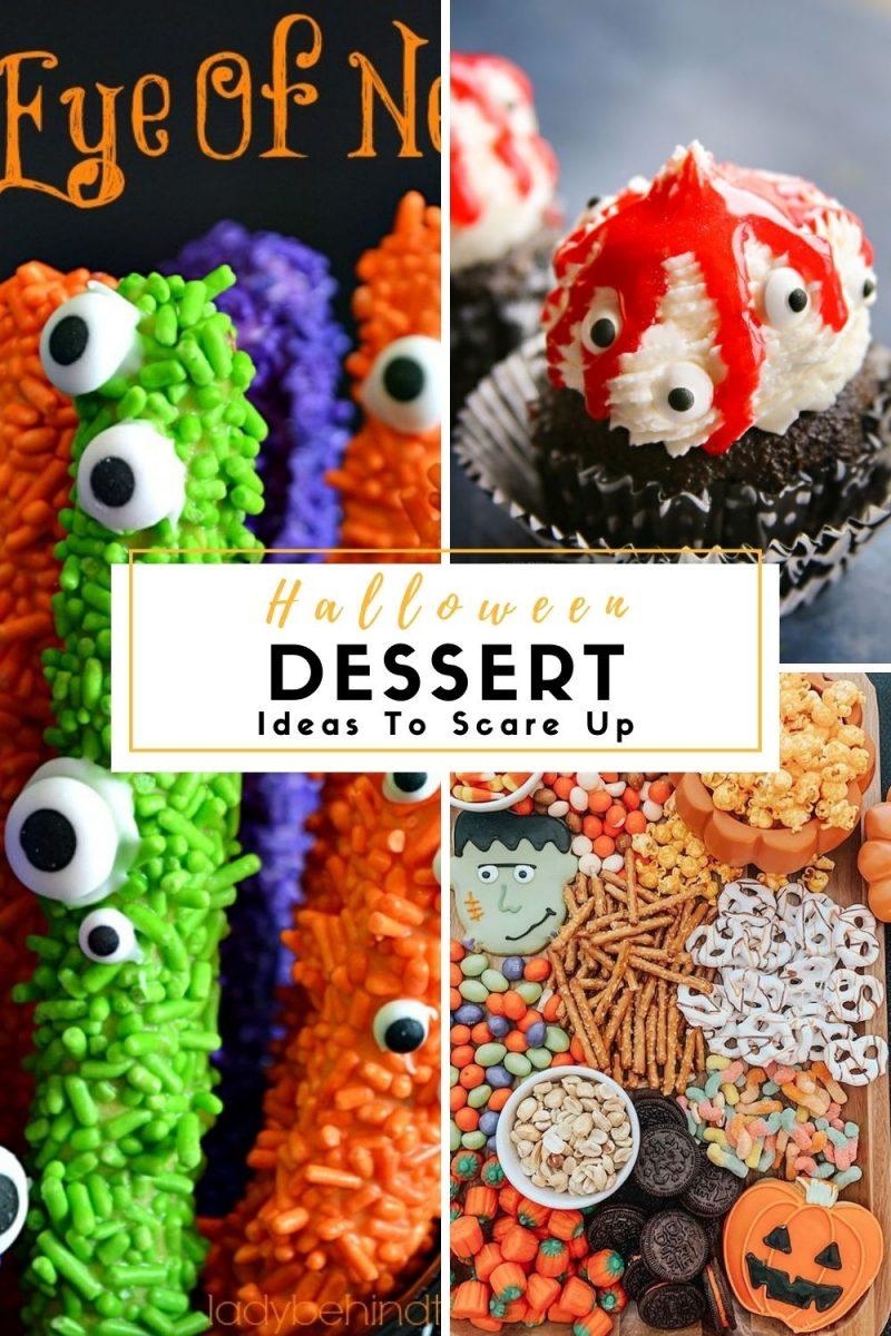 Halloween Dessert Ideas to Scare Up