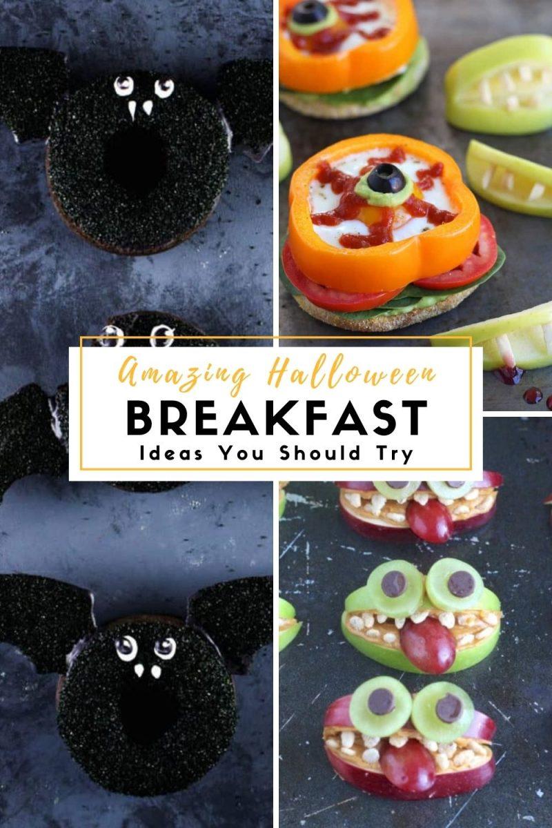 Amazing Halloween Breakfast Ideas